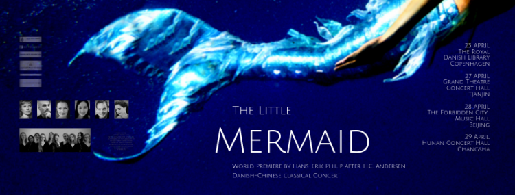 "China Tour ""The Little Mermaid"", the 26th-29th of April"
