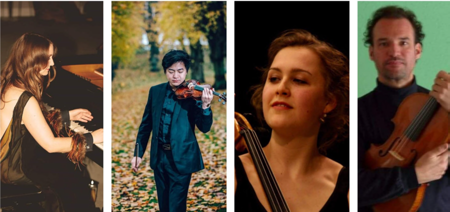 Klint Quartet, Hareskov Kirke, the 15th of November, 3pm